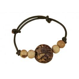Armband, Tagua (palmhout)
